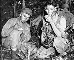 During WWII, Navajo Marines developed a code from their native language that would stump cryptanalysts around the world.   In honor of #NativeAmericanHeritageMonth, we're revisiting the incredible story of #Navajo Code Talkers and the Unbreakable Code: