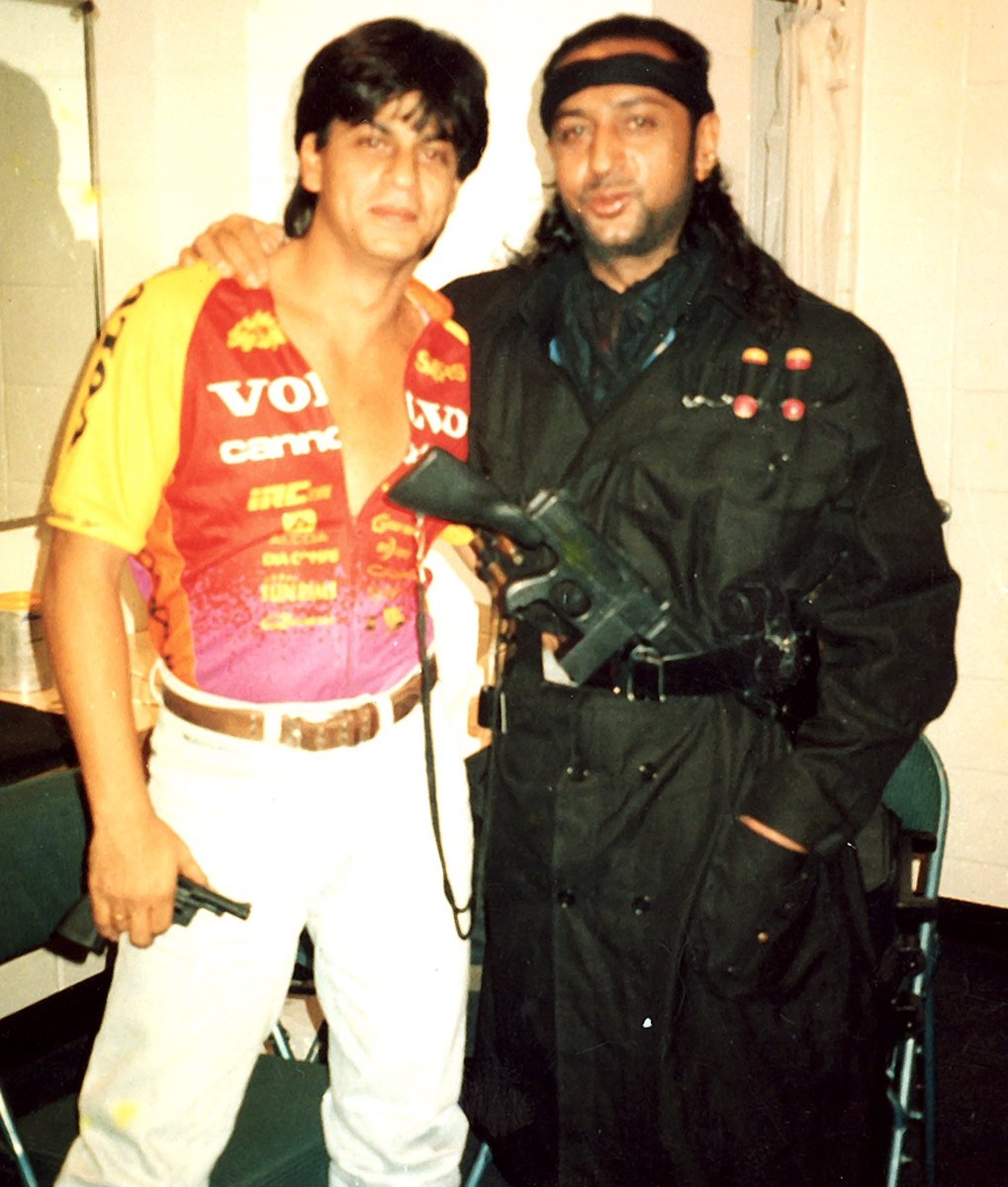 Happy Birthday ⁦@iamsrk⁩ my friend. I value and cherish your unconditional friendship in life ,on sets and multiple world tours for live shows we did together.Remember, how proud you made us when legendary ⁦@Madonna⁩ came back stage in LA to meet our superstar #SRK