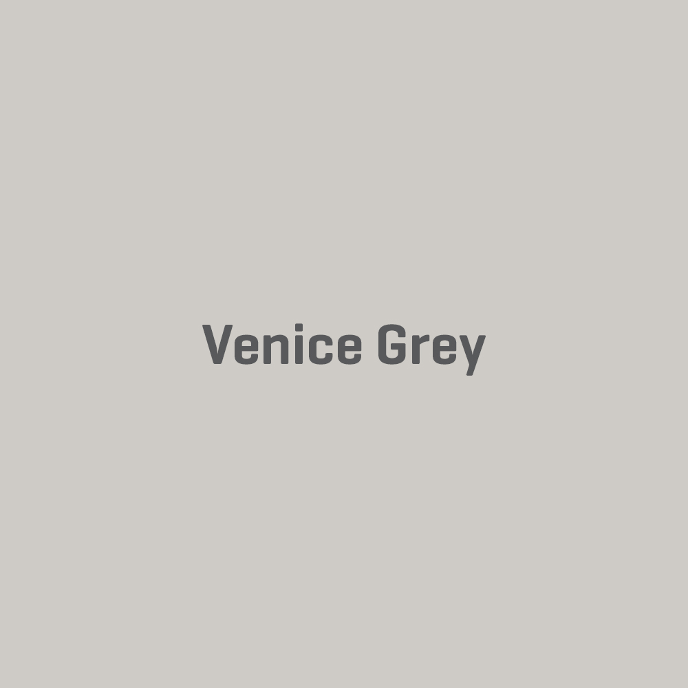 COLOUR OF THE WEEK – VENICE GREY Venice Grey is the perfect addition to any colour palette, and balances shades of grey and brown to perfection. Available in our Matt, Silk & Soft Sheen Wall & Ceiling paints, its a winner for any room!