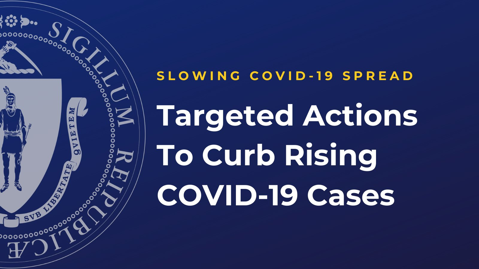 Targeted Measures To Curb Rising COVID-19 Cases