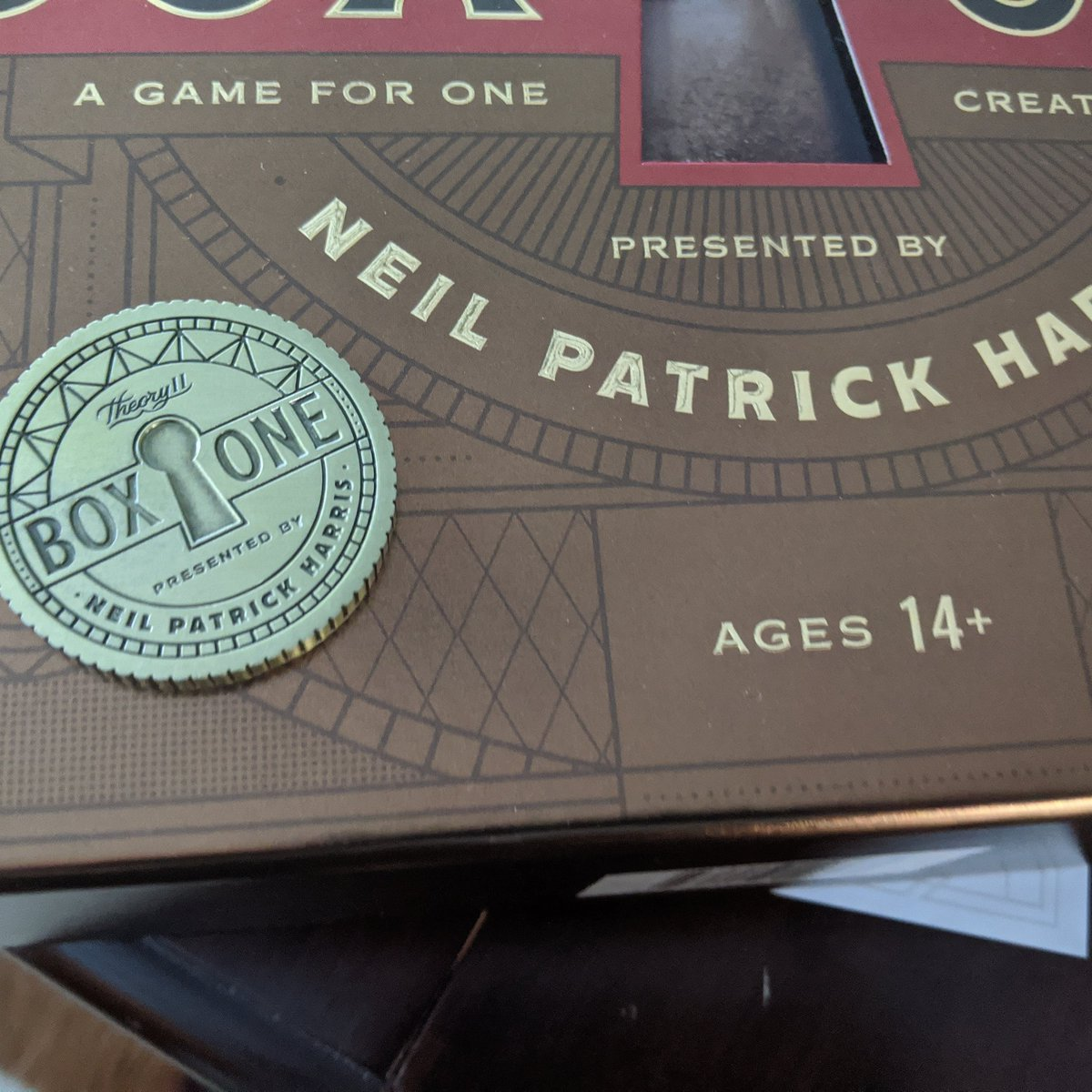 Boom!  Solved it.  Had a blast...what a journey... you will enjoy it...#boxone #theory11  get it at Target...