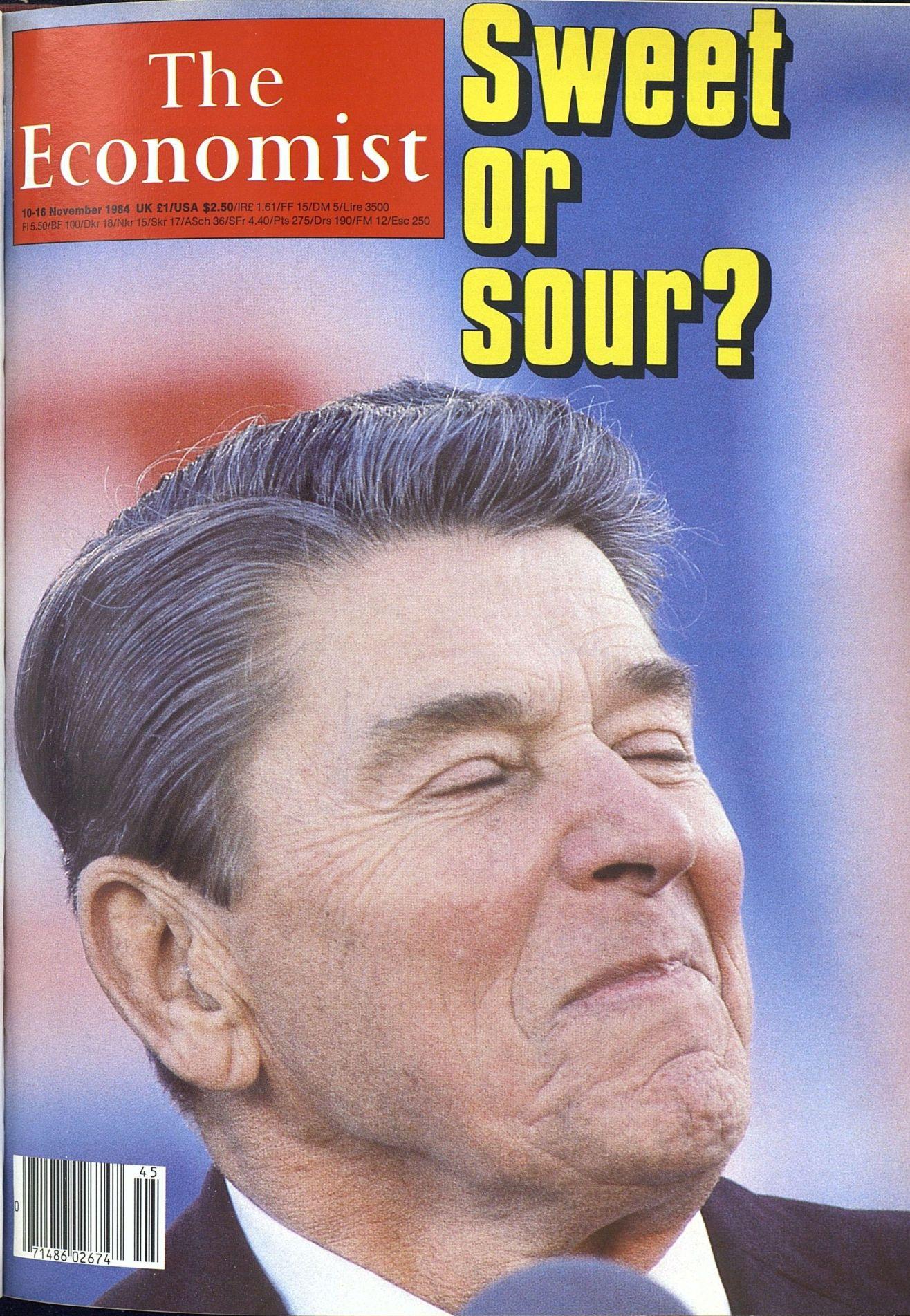 1984年的今天,共和党候选人里根以压倒性胜利击败民主党人蒙代尔,赢得50个州里的49个州,获得连任。-书迷号 shumihao.com