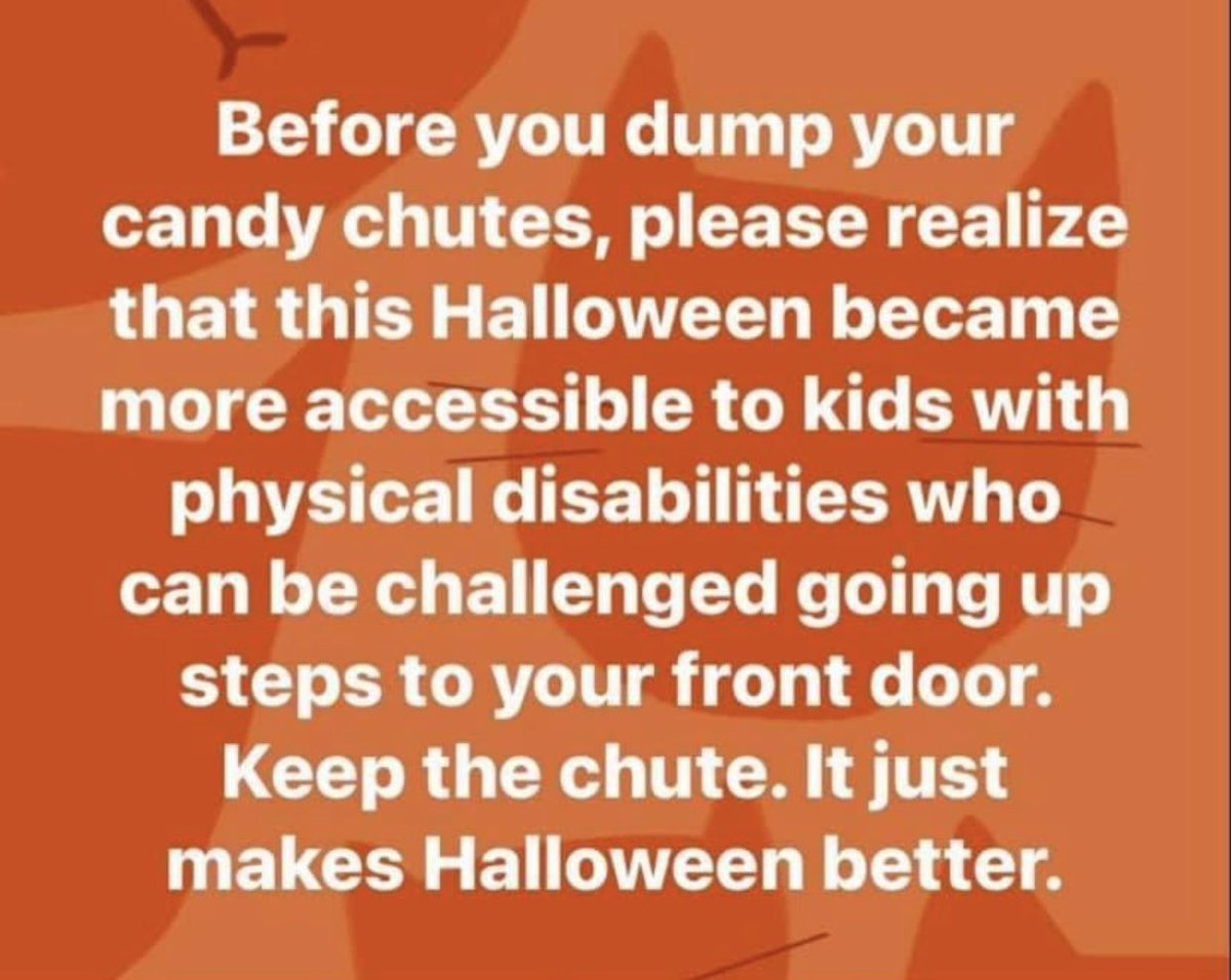 Perspective matters. #inclusion 🎃 Borrowed from @CMcKee27's share from someone to a FB group!