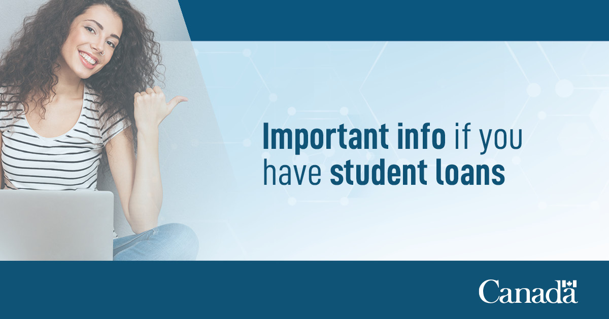 1/2 Important notice for Canada Student Loan borrowers ‼️ If you are repaying your Canada Student Loan via pre-authorized debit, please note that it may take until November 3 for your payment to be reflected in your NSLSC account.