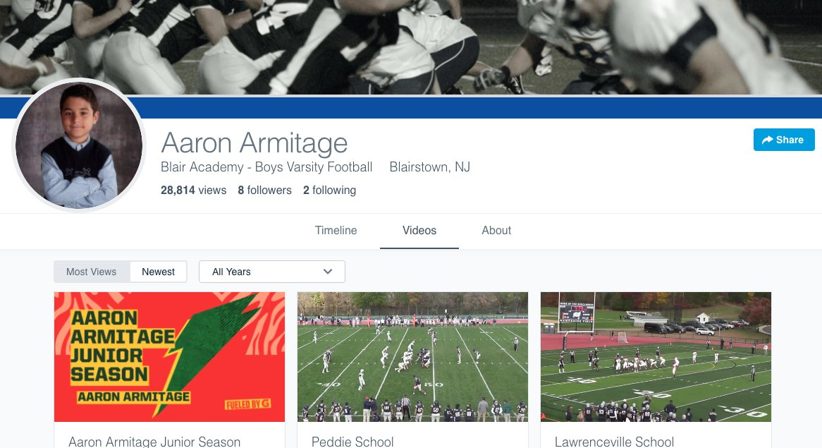 Getting ready for #Rivals250 DL Aaron Armitages commitment tomorrow and re-watching some of his Hudl film. Check out this great Hudl profile picture n.rivals.com/content/prospe… hudl.com/profile/116168… #Florida #LSU #Oregon #Stanford #USC