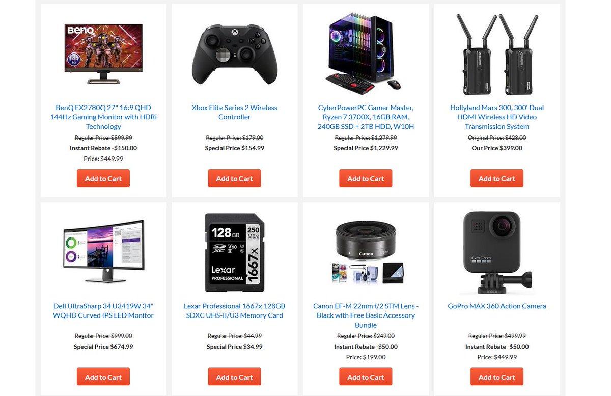 Cheap Ass Gamer On Twitter Cyber Monday Starts Now Sale Via Adorama Https T Co 5scrrv49xs