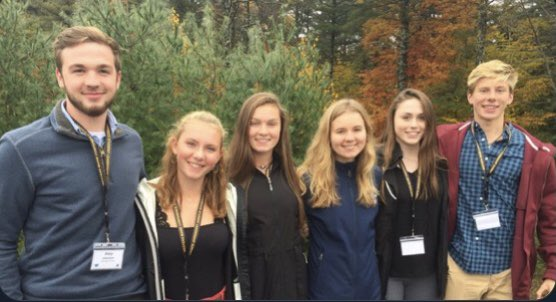 test Twitter Media - Today in Wildcat history 11.2.18: Riley Johnston, Bailey Oliver, Nina Howe, Sydney Fogg, Abby Orso &John Bychok represented York @ the Western Maine Conference Student Athlete Leadership Summit! Thank you for your leadership on and off the field! @YHSWildcats https://t.co/EtDWT7RqgQ