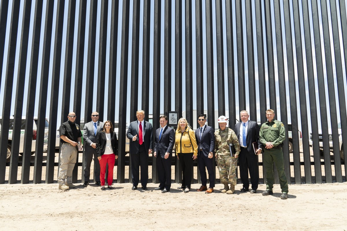 We're securing our southern border!
