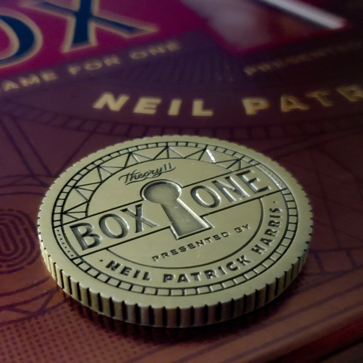 """#boxone is legen...wait for it...dary!  Watched @chrisramsay52 feature @ActuallyNPH talking about his newly released @theory11 BOX ONE game and I had to have it!  Highly recommend for anyone into puzzles and escape rooms.  NPH, when do we get """"BOX TWO""""???"""