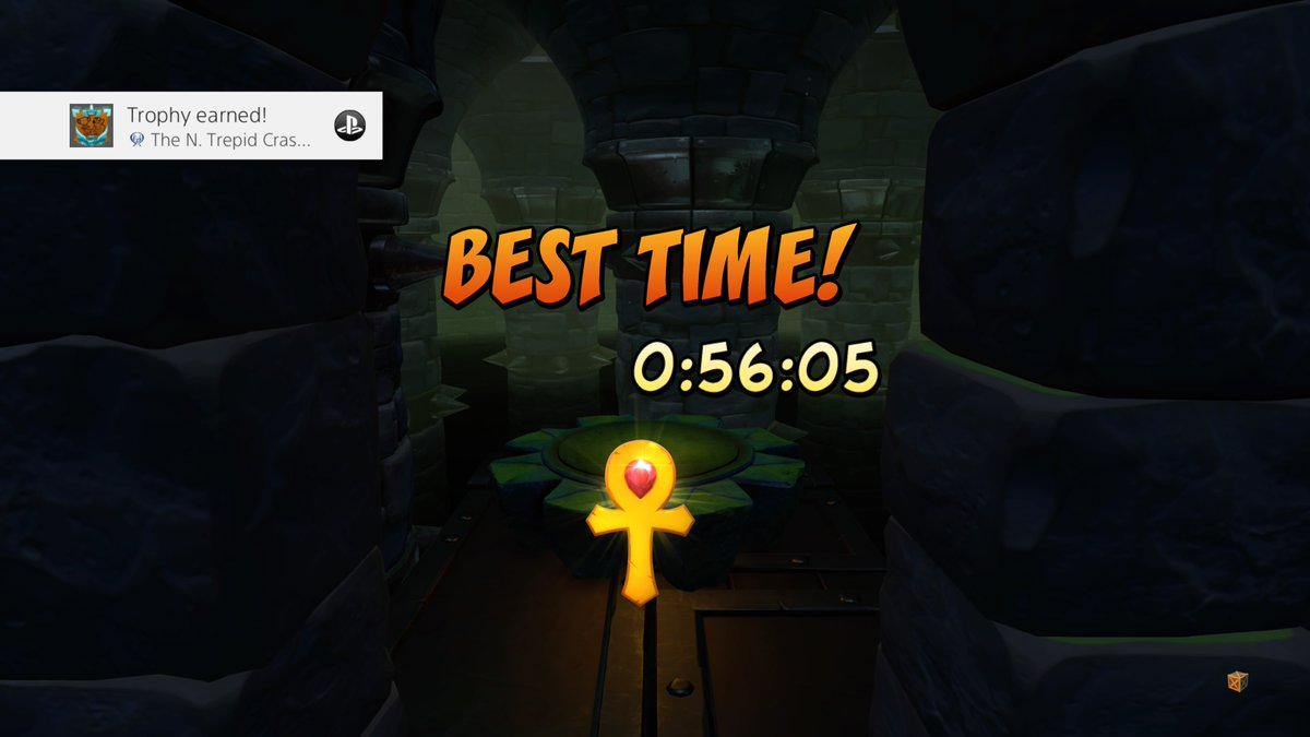 Twothless - My 15th #platinum trophy! Put it off for years, grinded the time trials on stream tonight. #PS4share