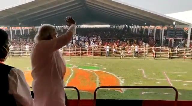 अभूतपूर्व उत्साह और उमंग... बिहार की जनता ने एनडीए की सरकार बनाना तय कर लिया है। #Vote4NDA