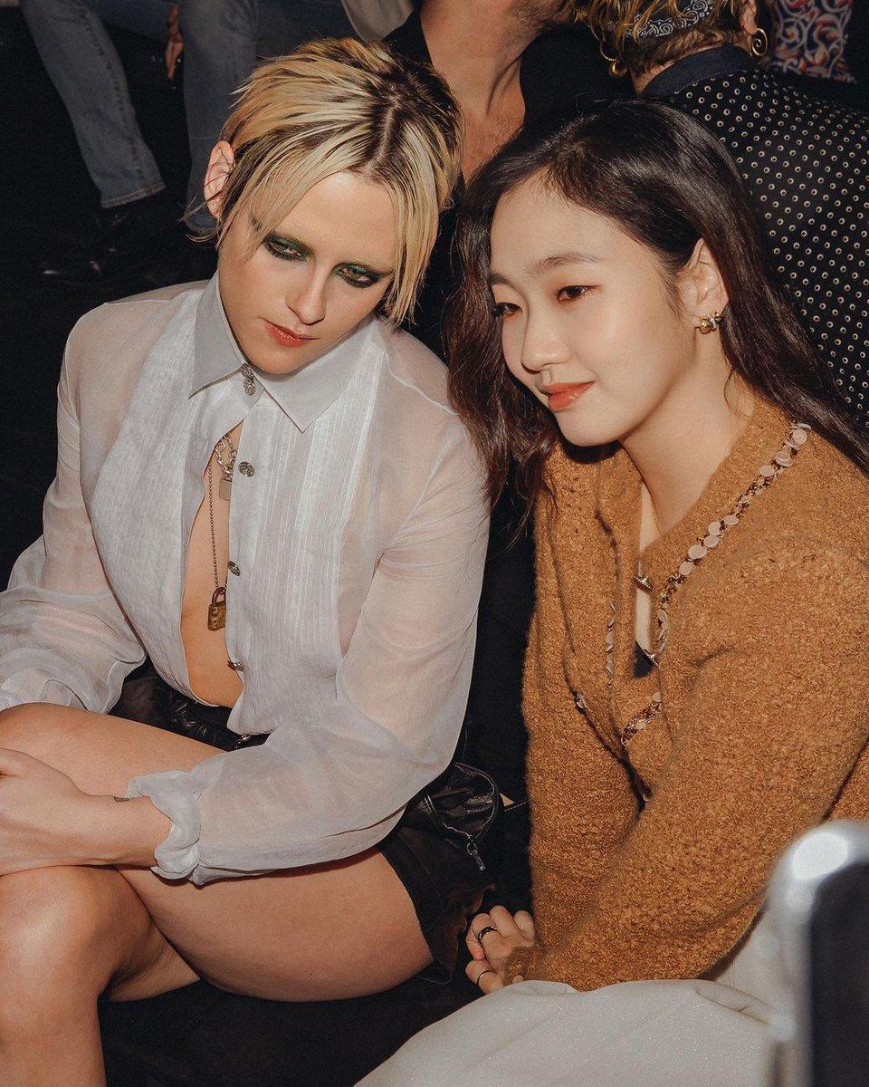 CHANEL ambassadors  Kim Go Eun and Kristen Stewart at the #CHANELMetiersdArt event / May 2019 ✨  ©  #KimGoEun  #arjenia #김고은