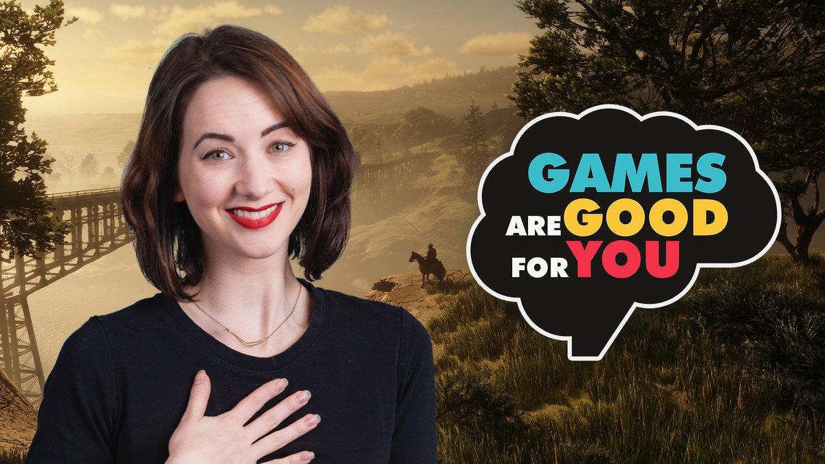 Turns out Powers CAN land on his horse jumping from a saloon.  We also talk about some serious stuff too with @lucyjamesgames in this week's episode of Games Are Good for You.  📺