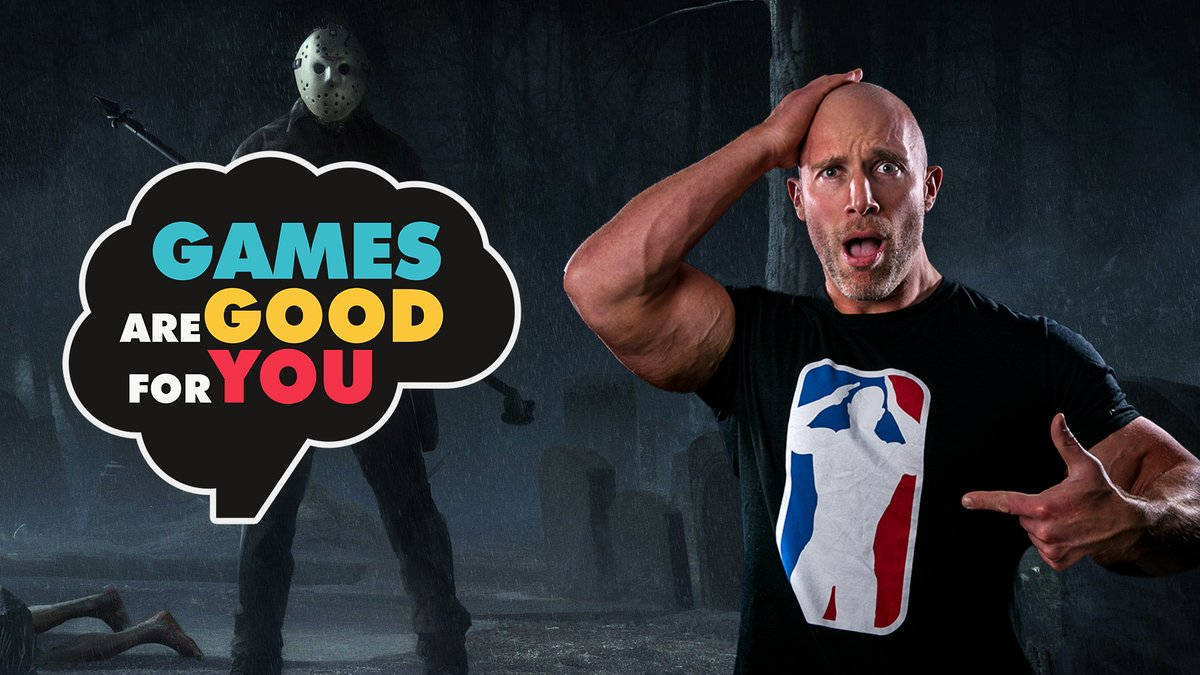 "Nobody feels 100% daily. Because it's not realistic. We're all going through problems."" We spend the night at Camp Crystal Lake with our friend @SimonMiller316 in the new episode of Games Are Good for You. 📺 youtu.be/OHgosvVZFUA"