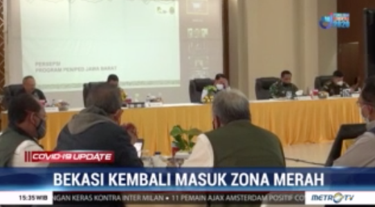 #Covid19UpdateMetroTV Kota Bekasi menjadi satu-satunya wilayah yang kembali masuk zona merah dalam penyebaran COVID-19 di Jawa Barat. Namun Kota Bekasi mendapatkan rapor terbaik dalam penanganan COVID-19 oleh Pemprov Jawa Barat.