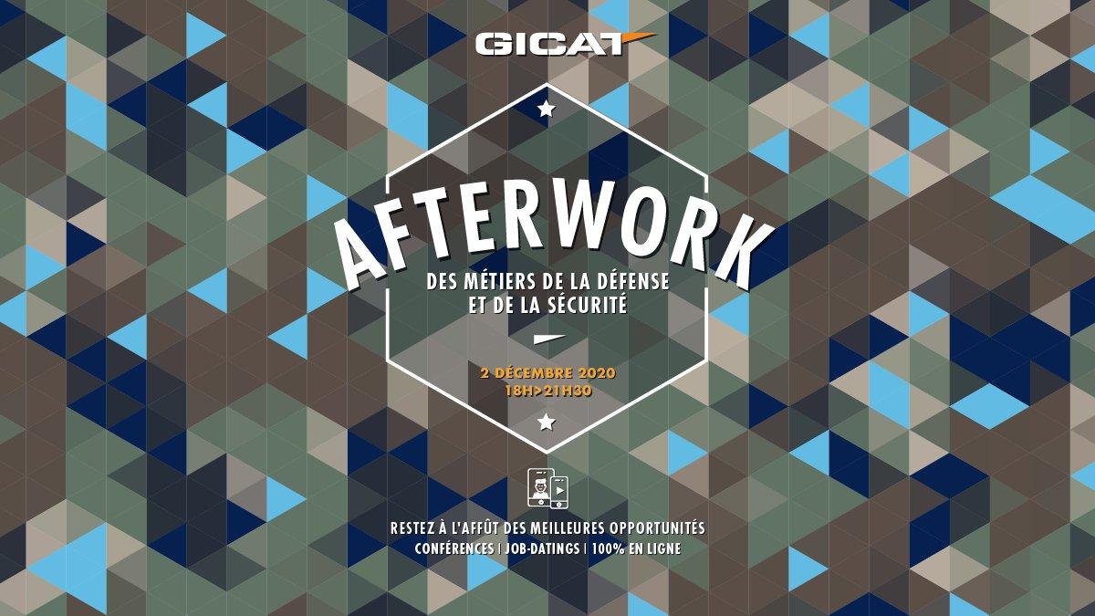 🗓️Nous participons à l'Afterwork des métiers de la défense et de la sécurité organisé par @GICAT_FR le 2 décembre à 18h 👍 #TheFutureIsOurChoice #Recrutement https://t.co/jnAypdBKPH