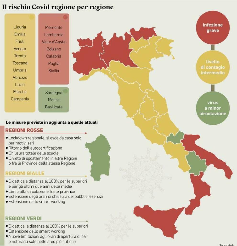 Cartina Province Liguria