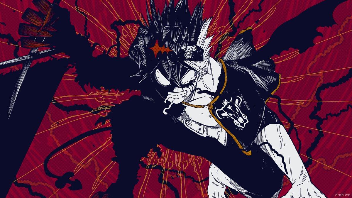Shyrose On Twitter Black Clover Illustration Blackclover Blackcloverfanart Fanart