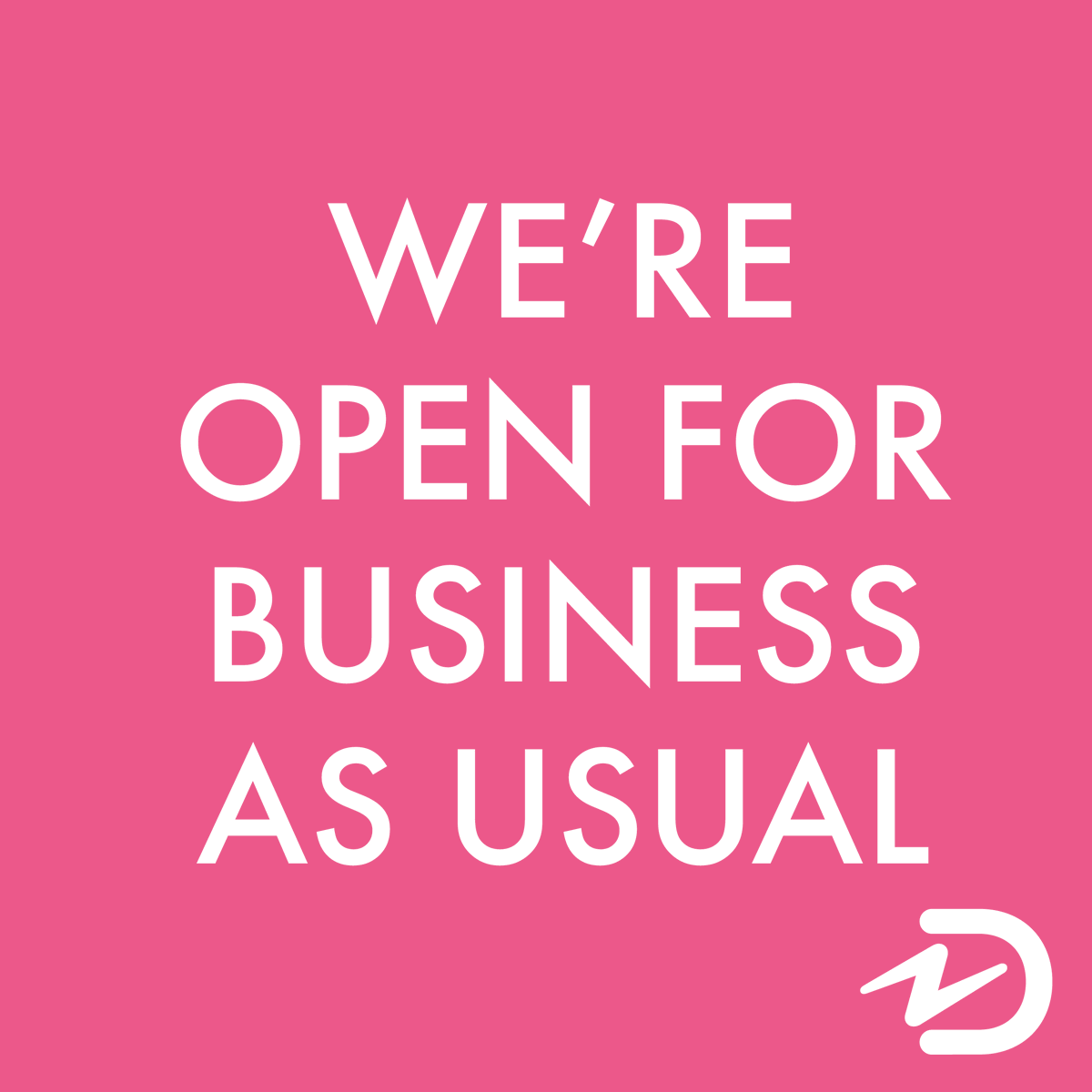 We just wanted to reassure you that Damart will remain open for business during the upcoming lockdown and you can continue to shop from the safety and comfort of your own home; orders will be delivered direct to your door and you can also arrange for any returns to be collected.