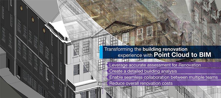 Leverage high-quality 3D BIM models with quick turn-around-time for renovation projects using point cloud to BIM conversion. https://t.co/GrmPjs5BV4   #pointcloudtobim #buildingrenovationchallenges #scantobimsolutions #buildinganalysis #3DRevitmodels https://t.co/YMKvTEQpay