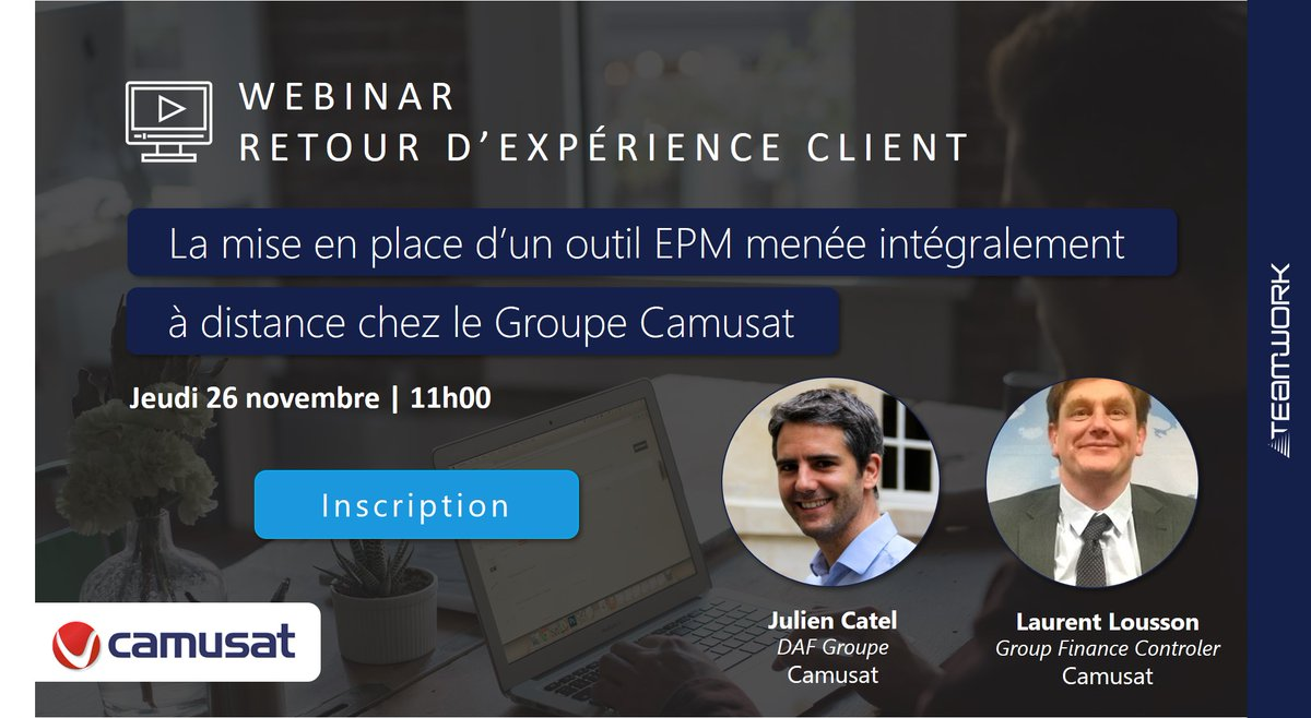 Image for the Tweet beginning: 🙋♂️#Webinar Retour d'expérience client :