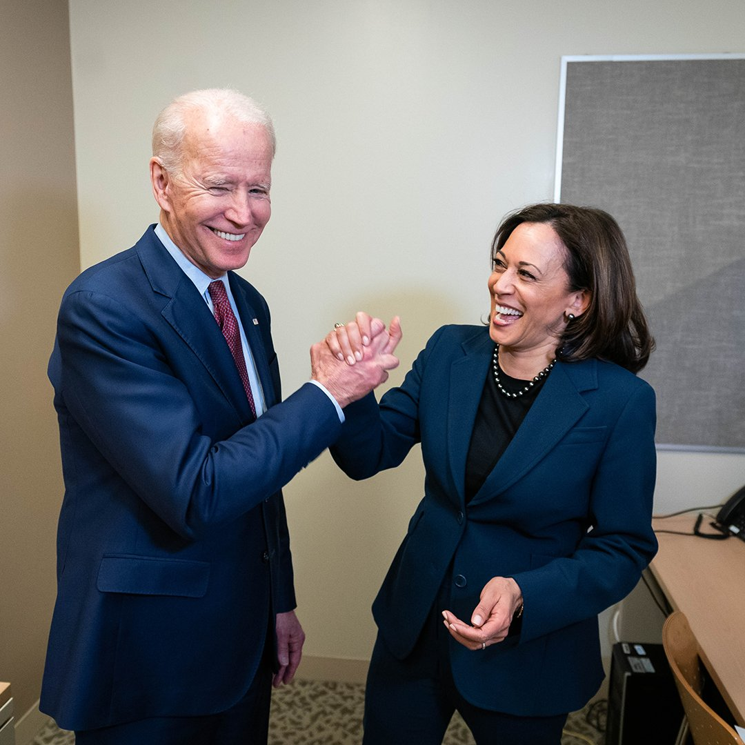 In 2008 and 2012, you placed your trust in me to help lead this country alongside Barack Obama.  Today, I'm asking for your trust once again — this time, in Kamala and me.  We can heal the soul of this nation — I promise we won't let you down.