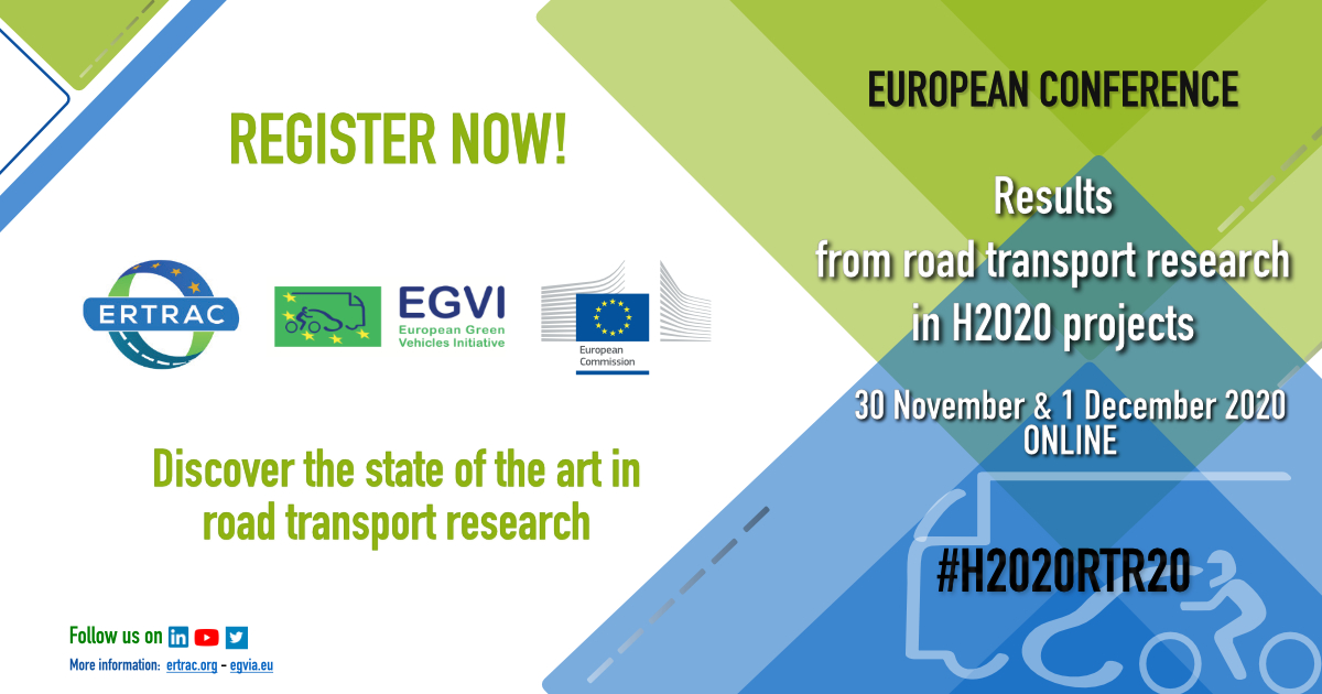 #H2020RTR20 European Conference next 30 November and 1 December 2020