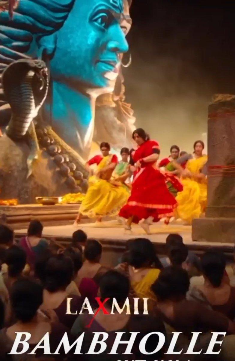 What a amazing track faddduuu Dance lyrics all time high  @akshaykumar #blockbuster #BamBholle #song #AkshayKumar #LaxmiBomb #yediwalilaxmmibombwali