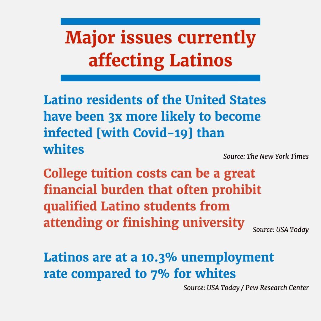 Los latinos somos una comunidad que está creciendo rápidamente, con millones de jóvenes a los que debemos garantizar una educación de calidad e igualdad de oportunidades. (1/2)
