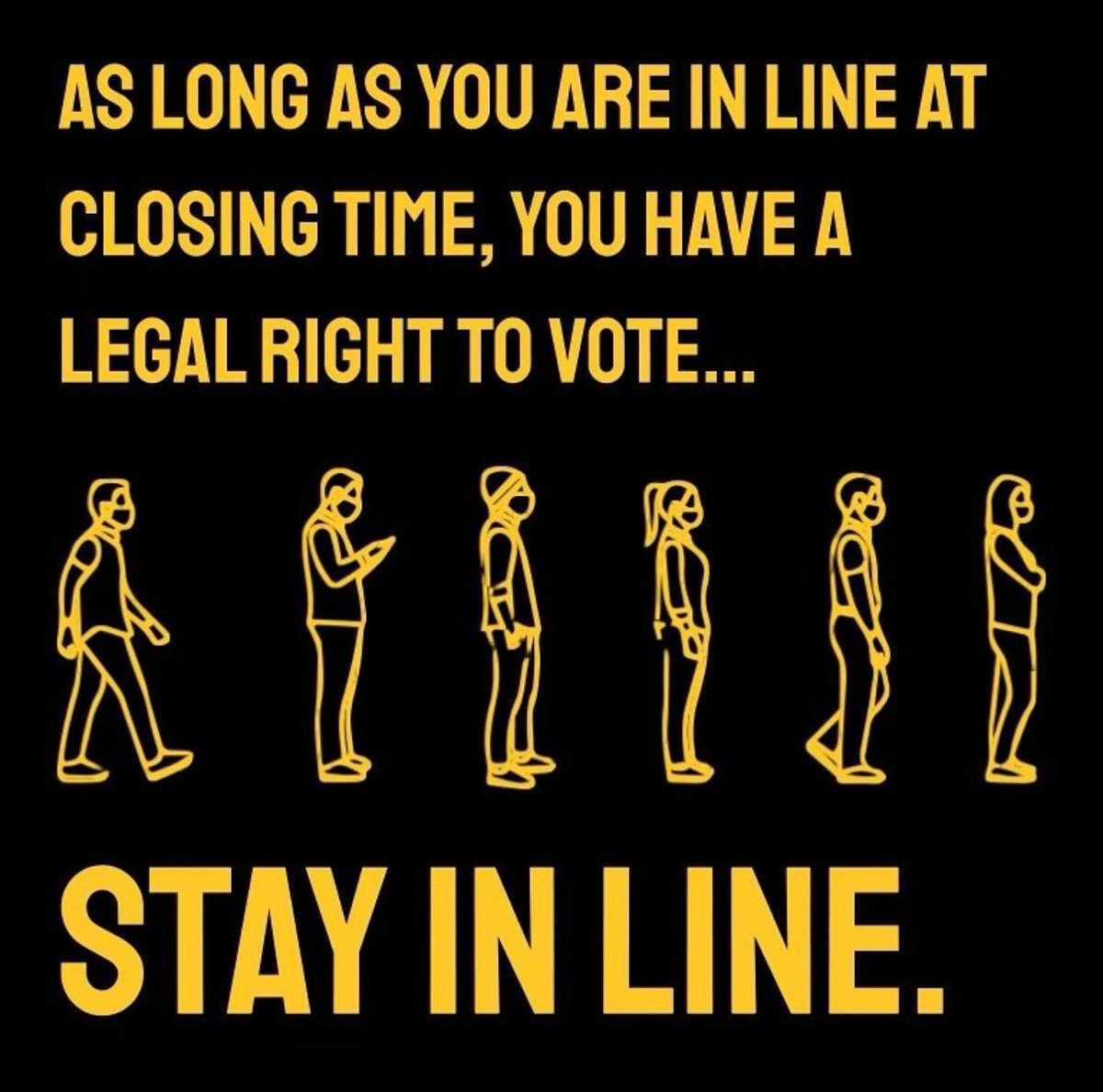 KNOW YOUR RIGHTS! 866-OurVote is here to help you TODAY. Your vote matters and deserves to be counted! If you have questions OR need to report any issues at the polls, call one of these numbers 866-Our-Vote has provided #electionprotection #CountEveryVote #VOTE