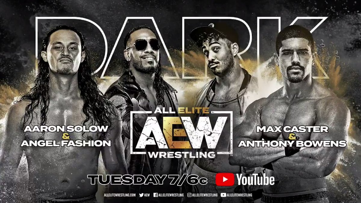 Weve got another stacked card with fifteen matches taking place tonight on Dark! Watch #AEWDark at 7e/6c via our Official YouTube Channel here ➡️ youtube.com/AllEliteWrestl…