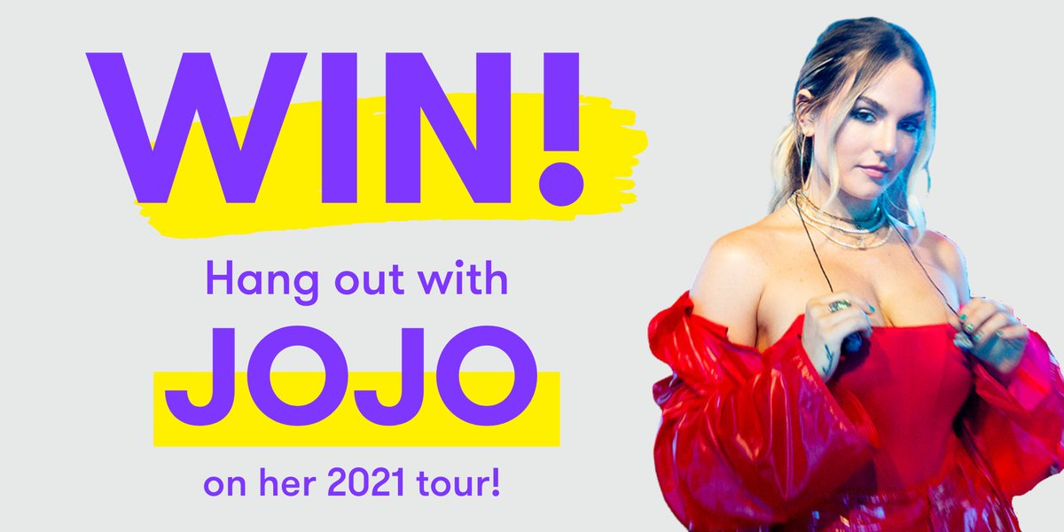 9 DAYS LEFT TO ENTER! It's your last chance to enter @iamjojo's #Wishio for @MFPLA & be in with the chance to hang out with JoJo on her 2021 tour! Head here to enter: