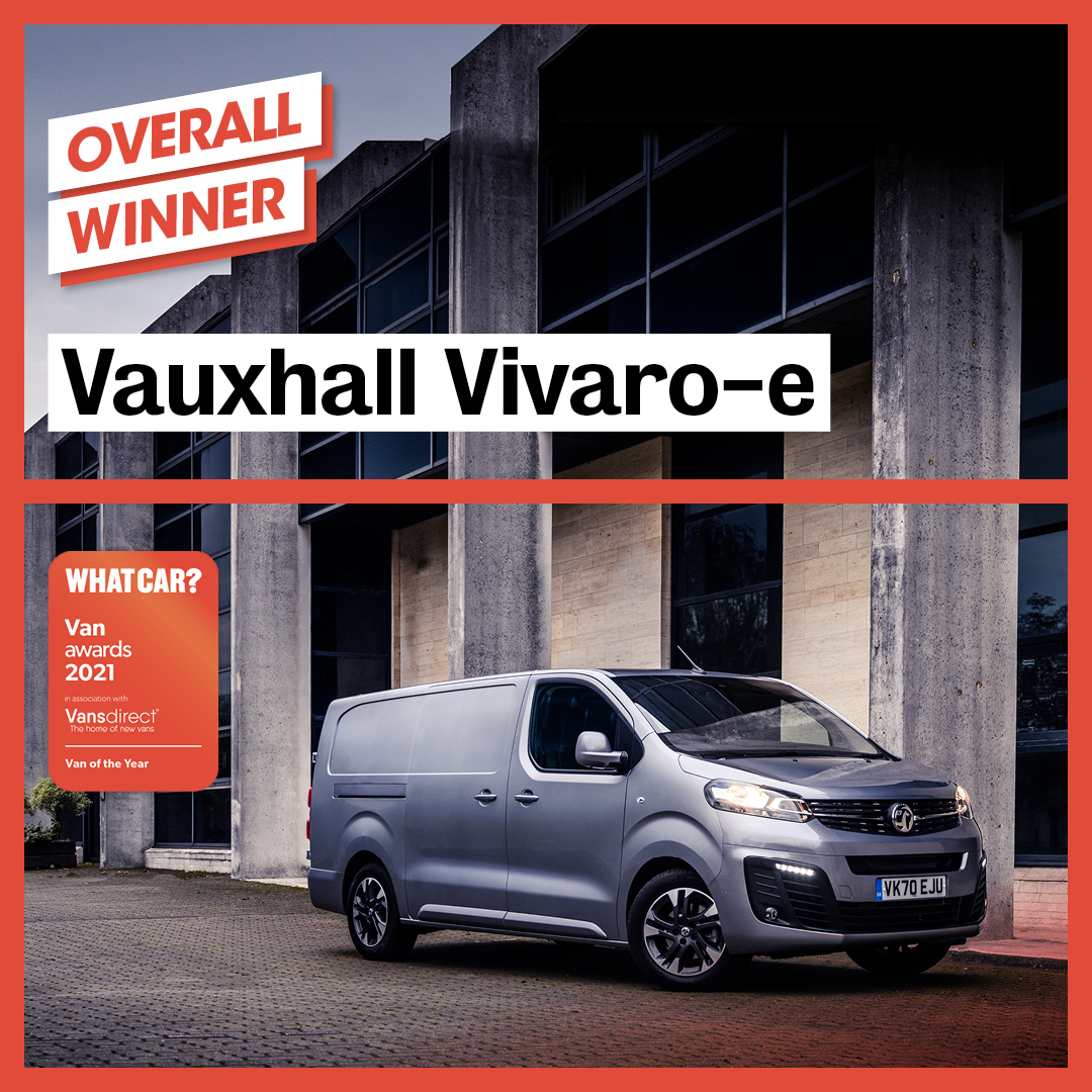 Our first Van of the Year is a truly ground-breaking one that proves that electric mobility can be a realistic proposition not just for the future, but now - brilliant win for the Vauxhall Vivaro-e https://t.co/Pz5tOElDYq