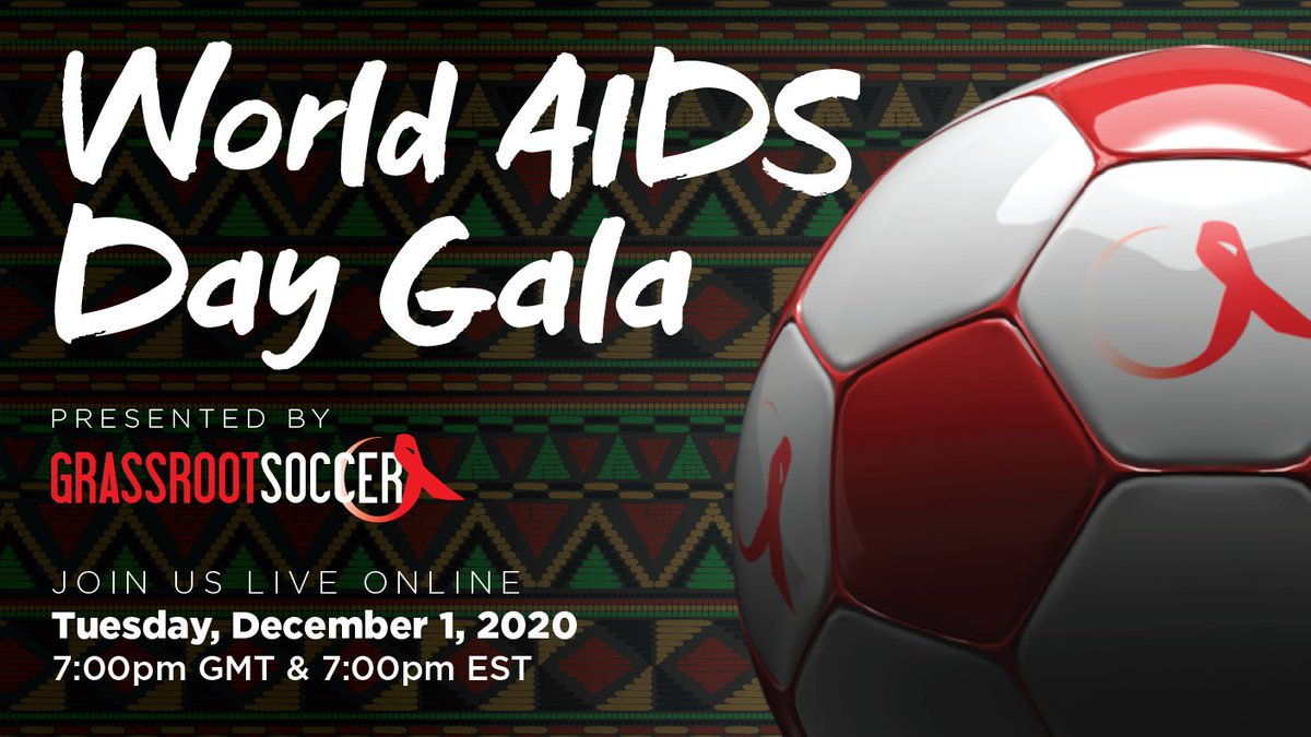 Something to look forward to: Join us for our #WorldAIDSDay gala! 🎉 This virtual event combines the best of our live events and opens the experience to a global audience. Spend an hour celebrating the power of youth as changemakers.   Free registration: