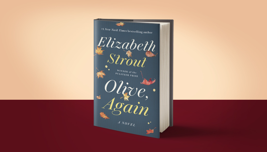 """Olive, Again by Elizabeth Strout Prickly, wry, honest, and empathetic Olive Kitteridge returns.  """"Just as wonderful as the original . . . Olive, Again poignantly reminds us that empathy, a requirement for love, helps make life 'not unhappy.'""""—NPR https://t.co/QkjqsnYKJH https://t.co/ghNFU6MZ4W"""