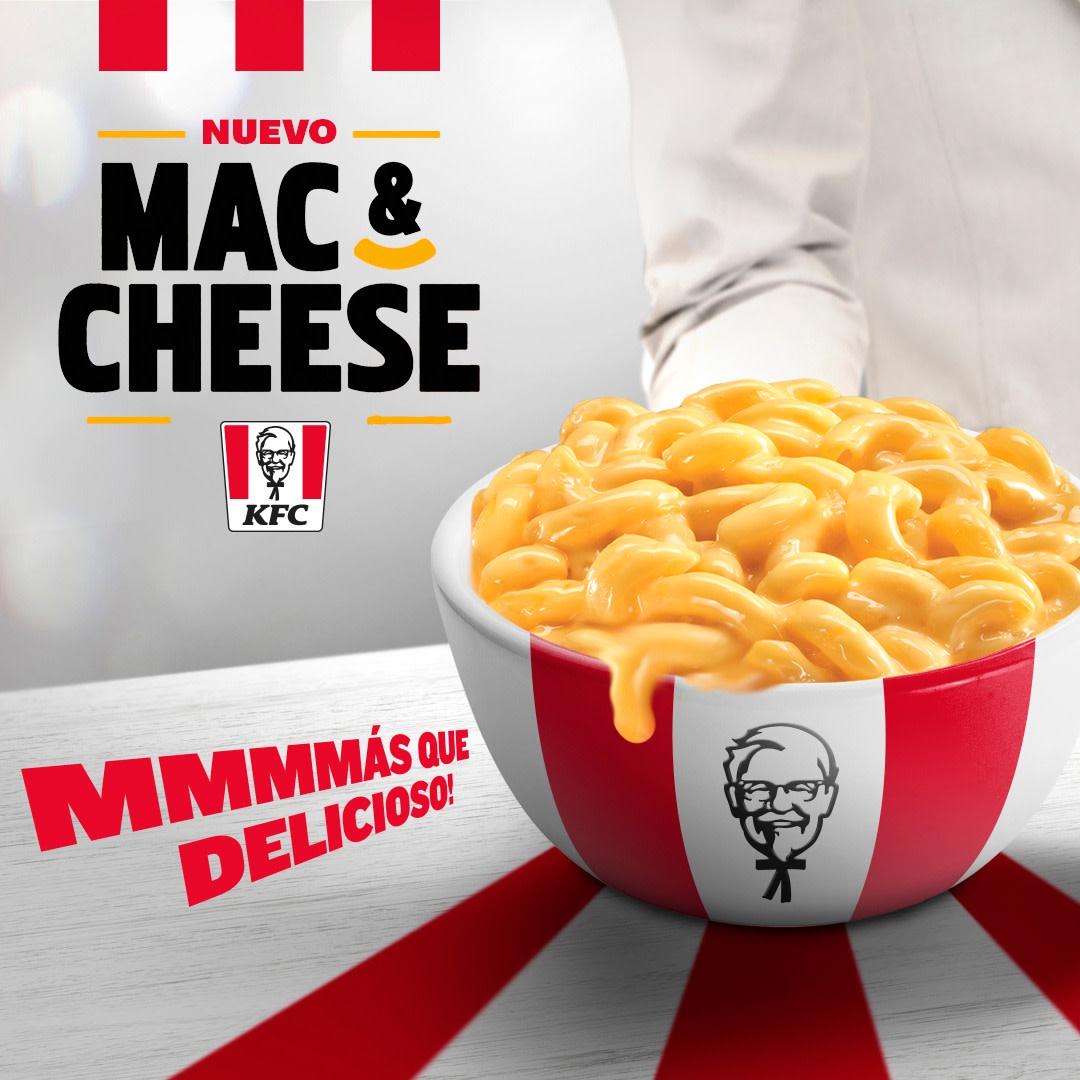 Las palabras no nos alcanzan para describir nuestro nuevo Mac&Cheese, ¡mmmmás que delicioso! Pídelo ya en todos tus combos y boxes 🧀 https://t.co/fGDjTb1MWT