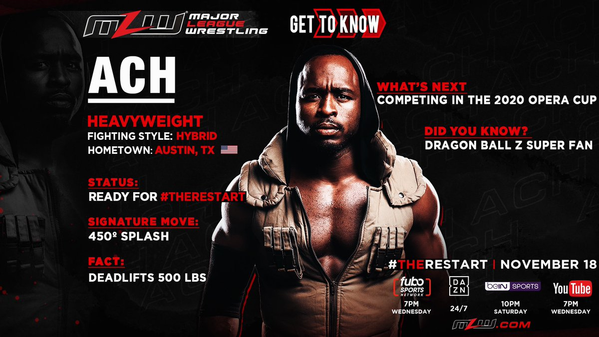MLW Announces ACH For The Restart