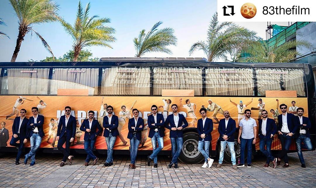 #83thefilm @83thefilm #kapildev #ranveersingh • • • • • • Kapil's Devils are set for the next innings! 🏏 #ThisIs83