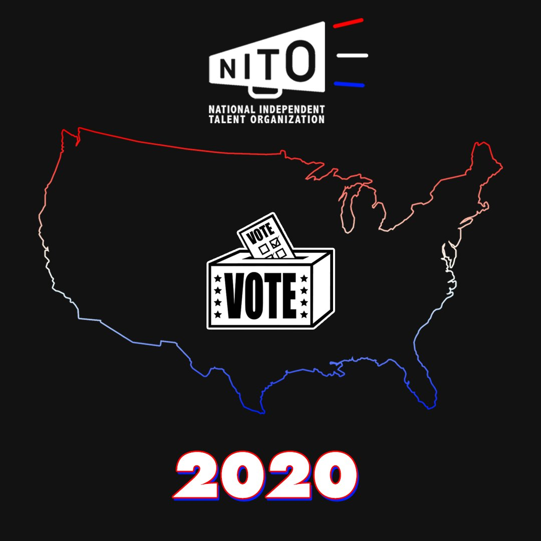 NITO and our members are proud and excited to take part in the democratic process of voting, and were honored to represent small businesses and artists whove used their voice, passion, and platform during this critical election. 🗳 #ElectionDay #TheFutureIsVoting