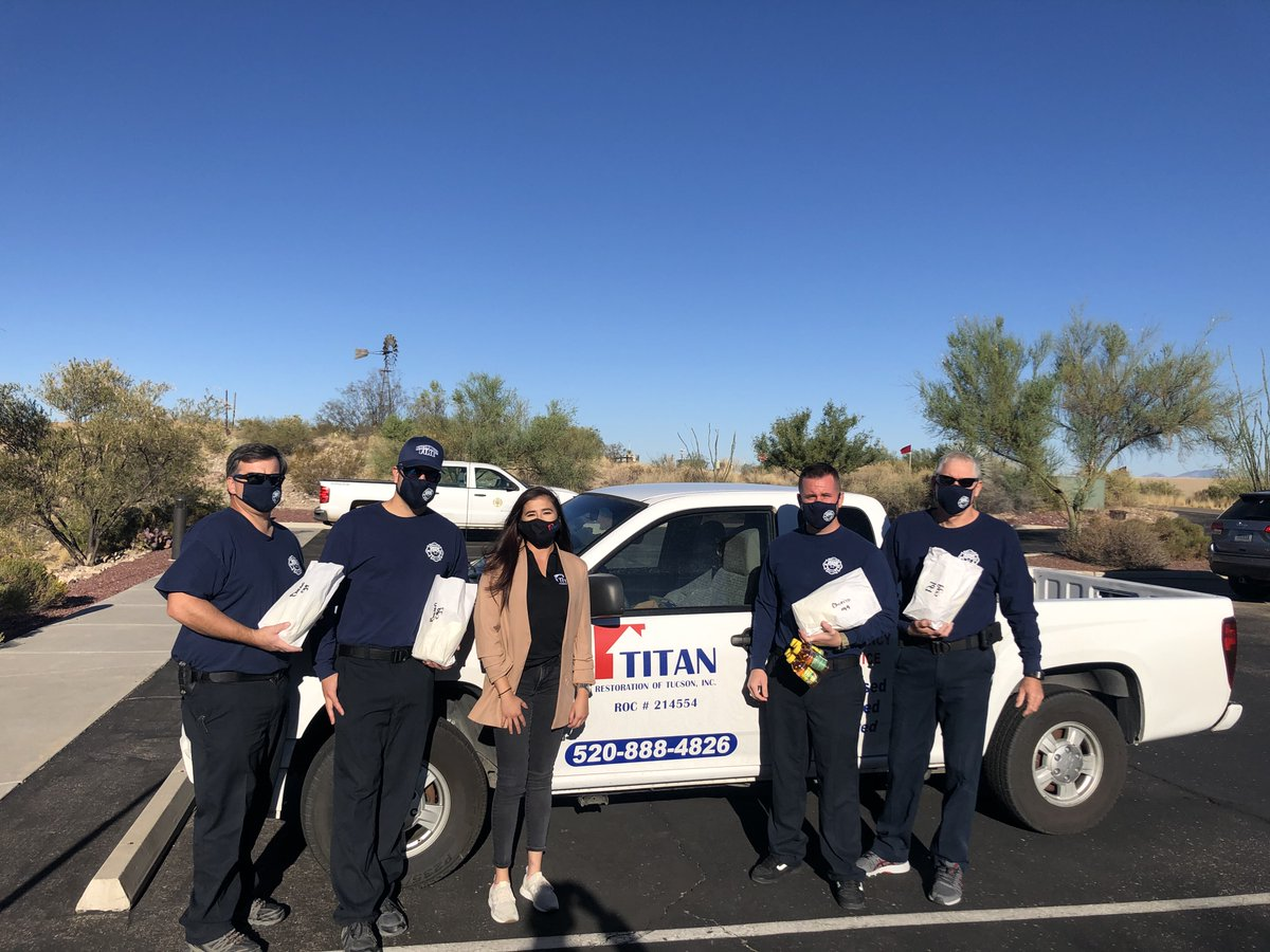 A big thank you to Amaris and your team at @TitanRestore for donating breakfast to our entire crew! #TitanRestoration #FirstRespondersDay #Community