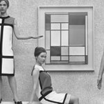 Image for the Tweet beginning: 👗 Bosch, Dali, Mondrian :