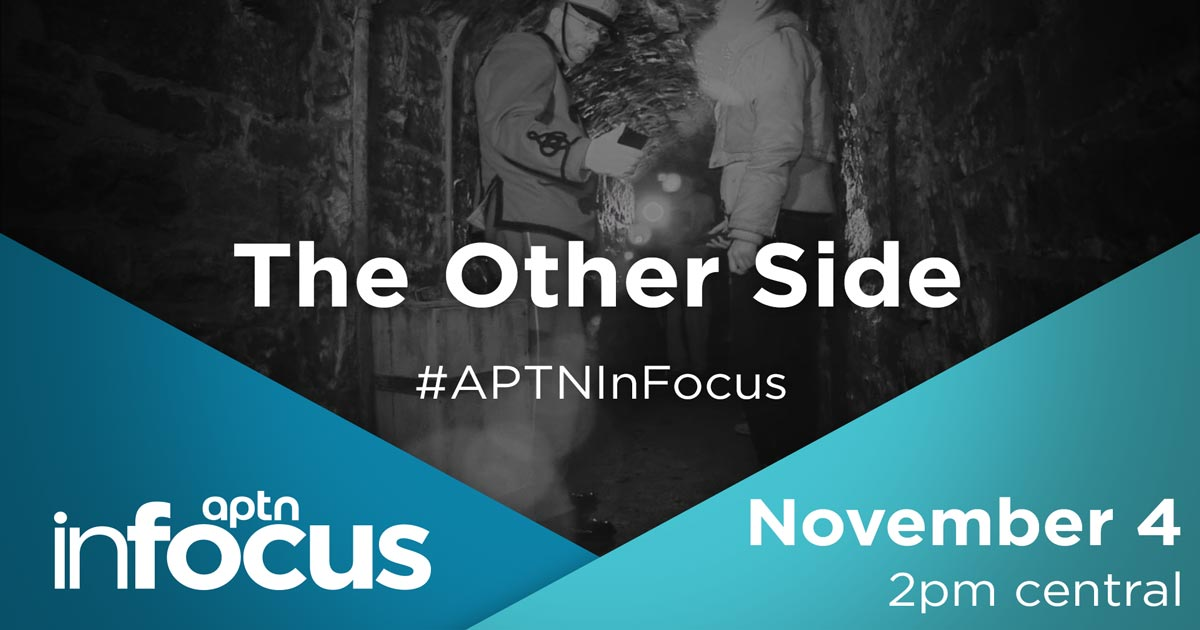 Have you ever seen something spooky? @OtherSideTV just investigated the APTN headquarters in Winnipeg. Join InFocus as we discuss with the cast and crew what it's like to connect with spirits, both friendly and troubled. Watch live online Wednesday at 3 p.m. ET.