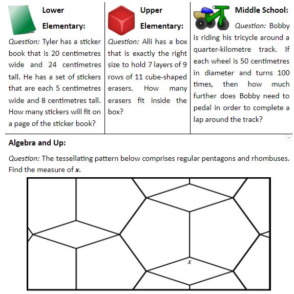 Here are this week's PROBLEM OF THE WEEK!  #problemoftheweek #math #mathisfun #mathforkids #mathtutoring #mathenrichment #matheducation #education #mathnasium #pleasantview #torontomathtutoring #mathproblem #mathforchildren #mathhelp #homeworkhelp #toronto #mathematics https://t.co/tSjx4IosjF