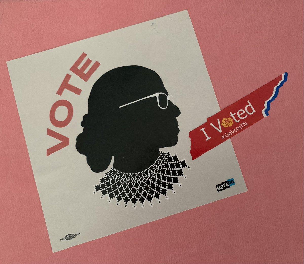 #Vote2020 I believe in the process. #GoVoteTN