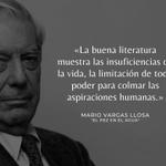 Image for the Tweet beginning: #FrasesVargasLlosa
