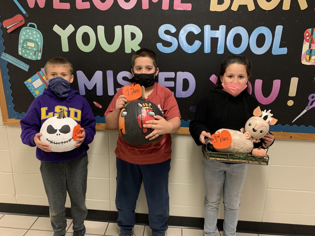 Congratulations to all our pumpkin winners!