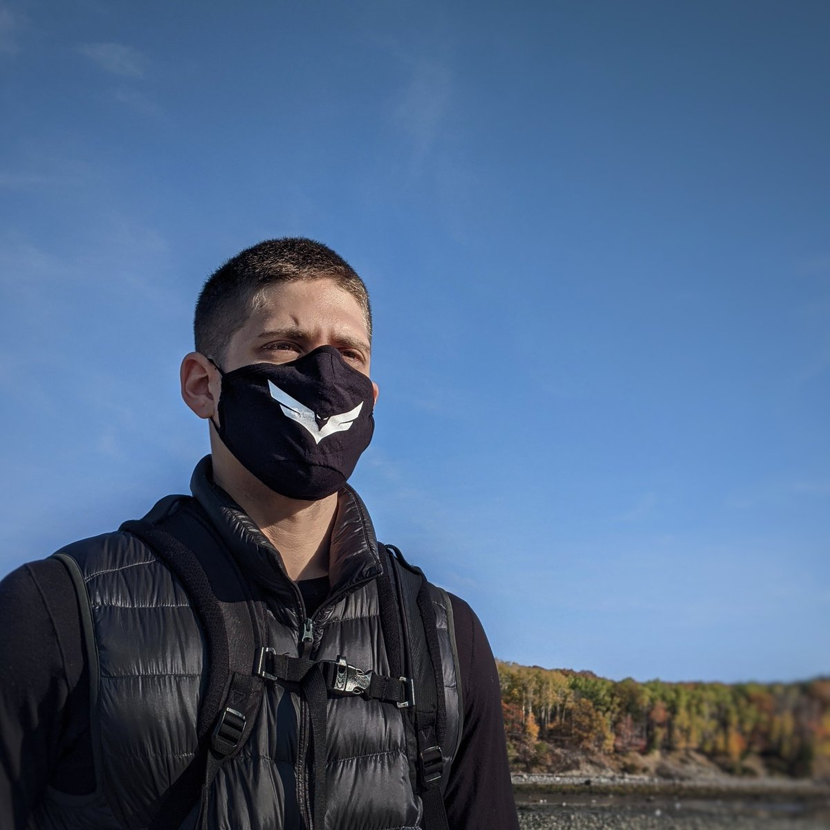 Fly - Mask on! My new mask has dropped, check it out at  Stay safe fam #ad