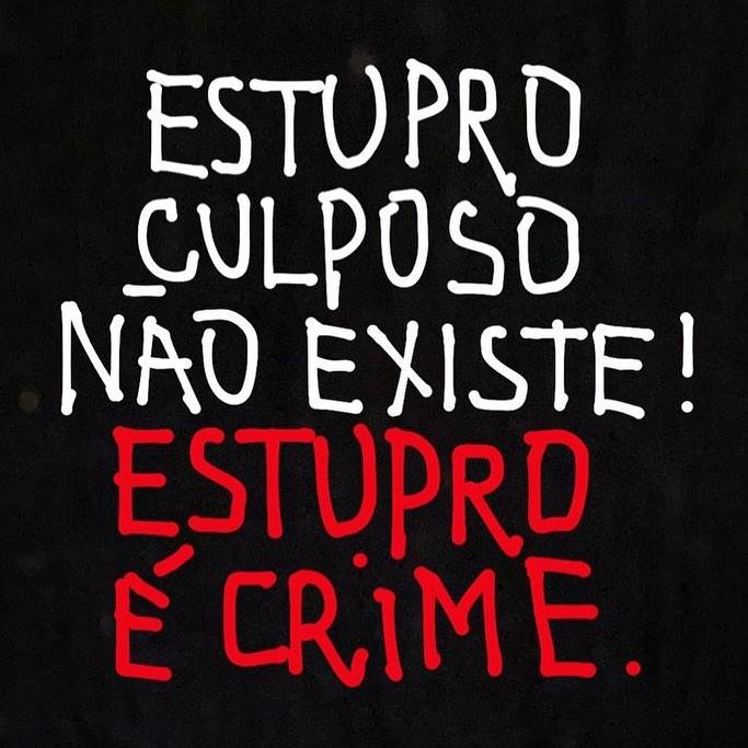 Estupro culposo não existe.  Estupro é crime.  #justiçapormariferrer https://t.co/QDU1JzOZEC