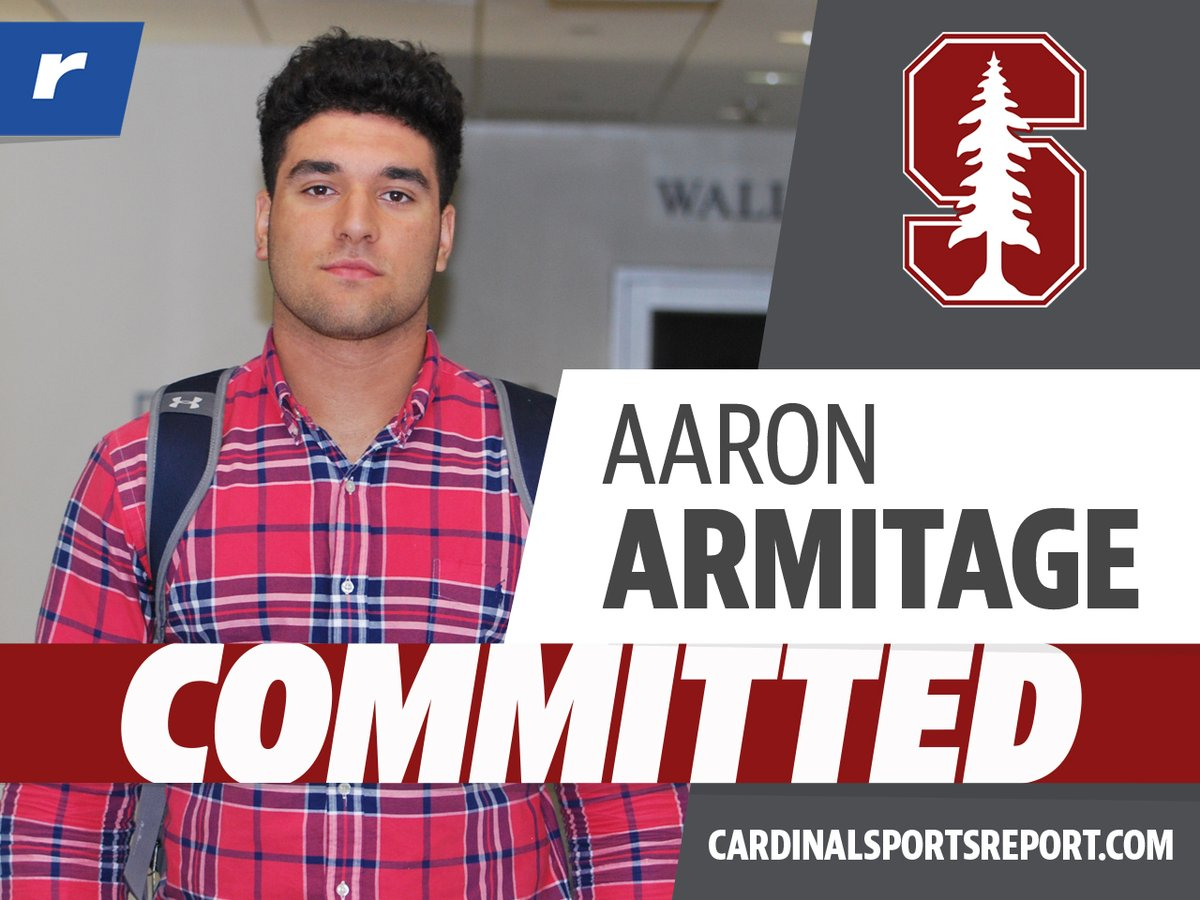BREAKING: #Stanford pulls off a surprise and lands a commitment from #Rivals250 DL Aaron Armitage. See how the #Cardinal made it happen, what Armitage has to say about his commitment, and what #Stanford is getting in this big time defensive lineman: n.rivals.com/news/commitmen…