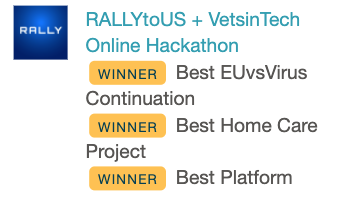 RallyToUs Winning Badge